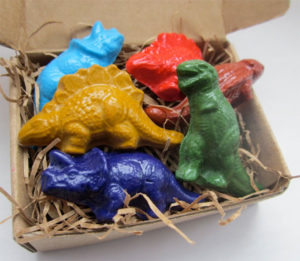 Dinosaur Crayon Stocking Stuffers Under $10